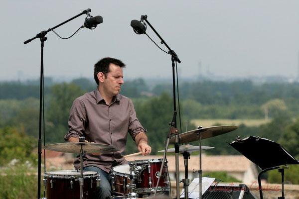 Didier Ottaviani; Philippe Bayle Trio. Festival JAZZ360 2011, Quinsac. 05/06/2011