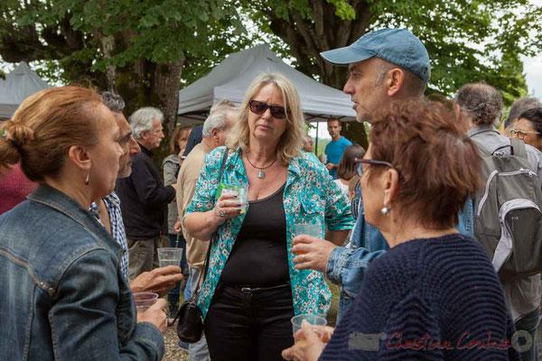 Marie Raducanu, bénévole. Festival JAZZ360 2016, Camblanes-et-Meynac, 11/06/2016