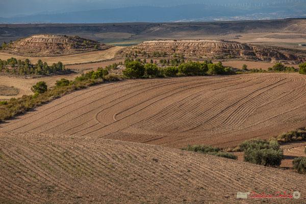 Travail du sol agricole / Labranza agrícola, Parque natural de las Bardenas Reales, Navarra