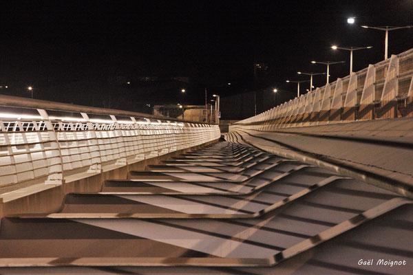 Le pont Jacques Chaban-Delmas photographié par Gaël Moignot. Bordeaux, 27 février 2019