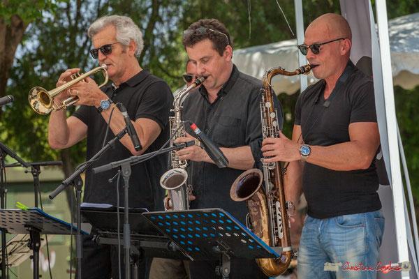 Claude Lermène, Denis Bonithon, Yohann Pichon; Soul Kitchen, Festival JAZZ360, Quinsac. 11/06/2017