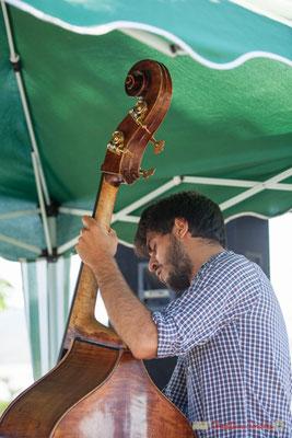 Samuel F'hima, Gaétan Diaz Quintet. Festival JAZZ360, 10 juillet 2017, Cénac