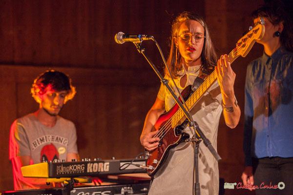 Robin Magord, Laure Sanchez; Laure Sanchez Quintet, JAZZ360 au Domaine de Sentout, Lignan-de-Bordeaux. 08/09/2018