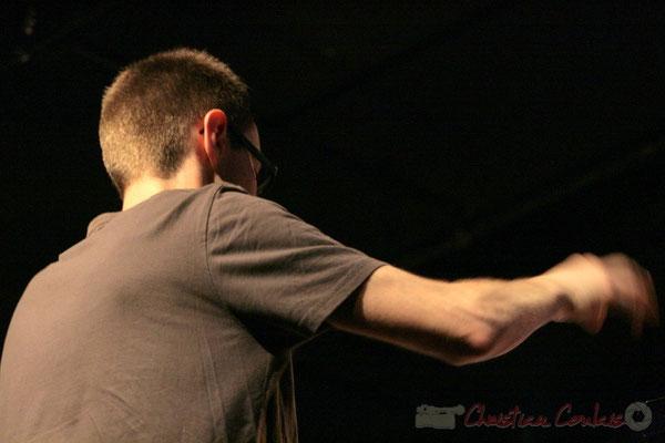 Julien Dubois, Big Band du Conservatoire Jacques Thibaud, section MMA. Festival JAZZ360, Cénac. 03/06/2011