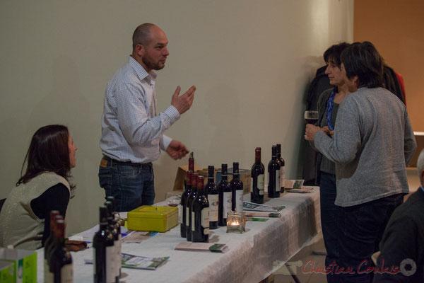 Jean-Benoît Subra décrit ses vins du Château du Garde, 19/03/2016