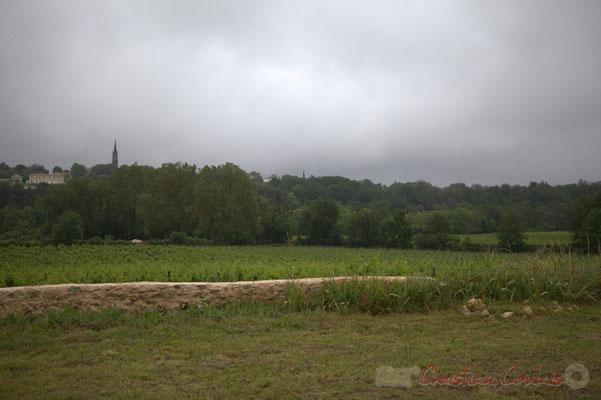 Face au Château Lestange, Camblanes-et-Meynac. Festival JAZZ360 2012, Quinsac, dimanche 10 juin 2012