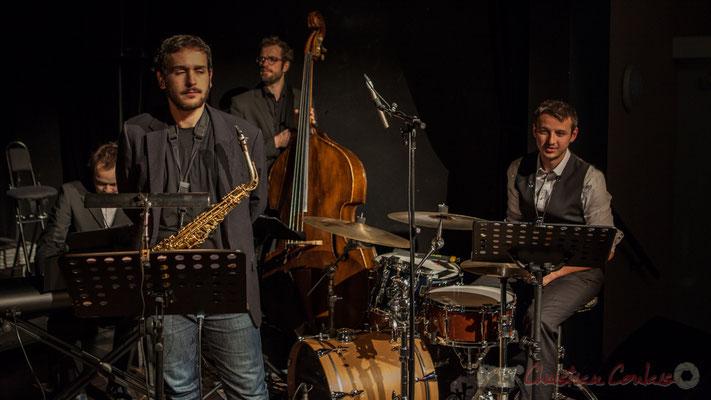 Vincent Vilnet, Paul Robert, Aurélien Gody, Hugo Raducanu accompagnent les Choraleurs dans Carmen in Jazz, cénac
