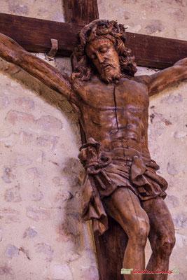 Christ en croix. Eglise Saint-André, Cénac. 28/04/2018