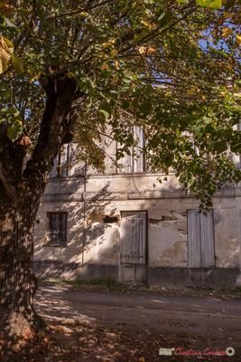1 Habitat vernaculaire. Allée du Garde, Cénac. 16/10/2017