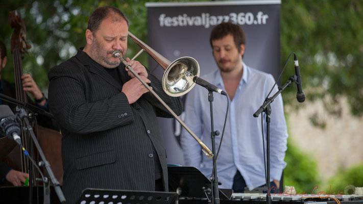 Alexis Valet Quartet : Sébastien Arruti, Alexis Valet. Festival JAZZ360 2016, Quinsac, 12/06/2016
