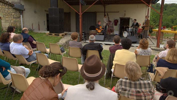 Alex Golino & David Blenkhorn Quartet, Festival JAZZ360 2012, château Roquebrune, Cénac, samedi 9 juin 2012
