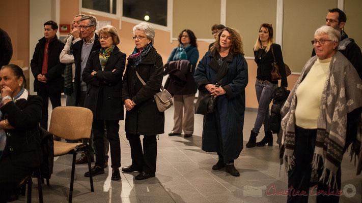 Vœux du Maire de Cénac, salle culturelle, 6 janvier 2017