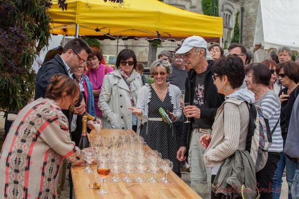 Vin d'honneur offert par la municipalité, Crémant de Bordeaux et Clairet de Quinsac. Festival JAZZ360 2016, Quinsac