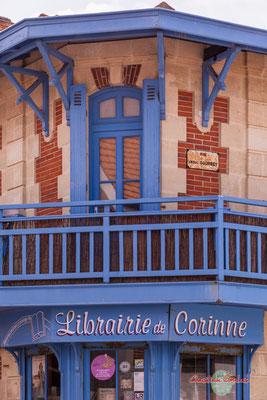Librairie de Corinne, Soulac-sur-Mer. Samedi 3 juillet 2021. Photographie © Christian Coulais