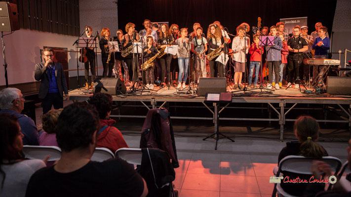 Concerts des écoles de musique de la CDC des Portes de l'Entre-Deux-Mers. Festival JAZZ360 2019, Saint-Caprais-de-Bordeaux. 05/06/2019