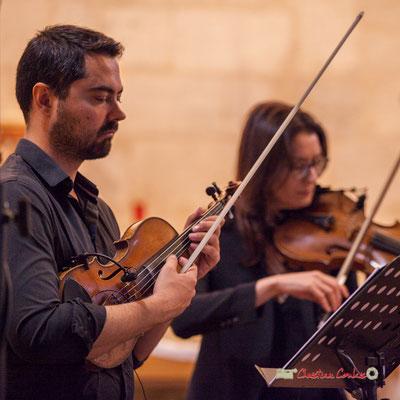 Bastien Ribot, Aude-Marie Duperret; François Poitou Quintet. Festival JAZZ360 2019, Cénac. 07/06/2019