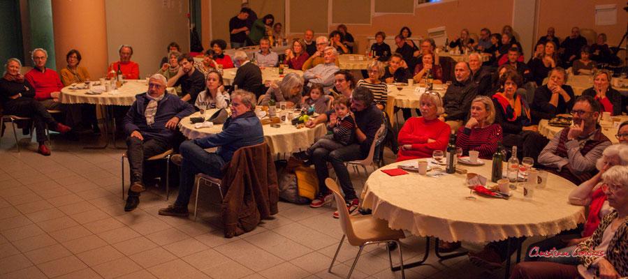 Merci à Dom Imonk, d'Action Jazz pour sa présence. Soirée Club JAZZ360, Cénac. Samedi 1er février 2020 ©Christian Coulais