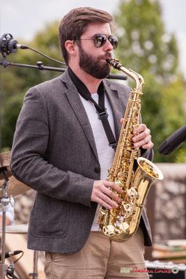 Jonathan Bergeron; Atelier Jazz du conservatoire Jacques Thibaud. Festival JAZZ360 2018, Quinsac. 10/06/2018