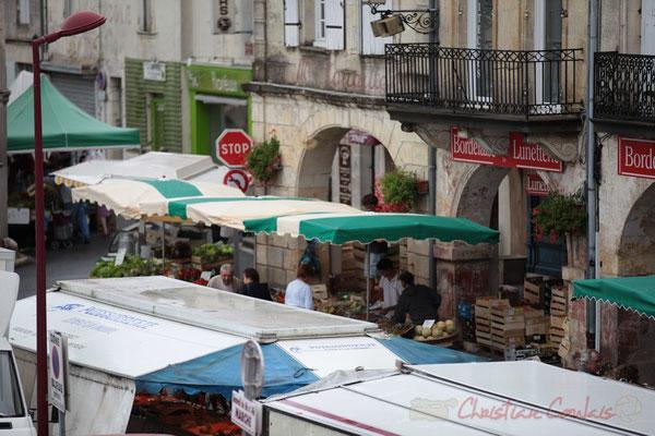 Place de la Prévôté, Marché de Créon, Gironde