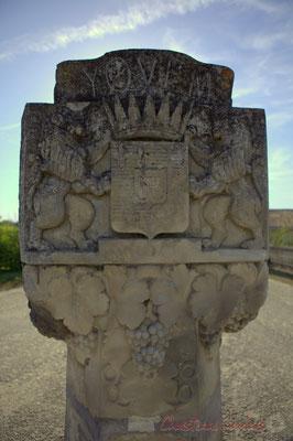 Borne de l'entrée Est du Château d'Yquem, Sauternes