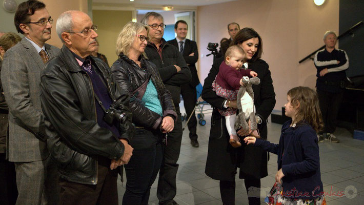 Honorariat de Simone Ferrer et Gérard Pointet, anciens Maires de Cénac, vendredi 3 avril 2015