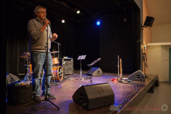 Présentation de la Soirée Cabaret JAZZ360 par Richard Raducanu