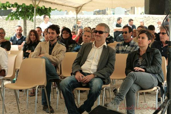 Alex Golino, fier de ses élèves des Ateliers Jazz de l'I.R.E.M., Institut Régional d'Expressions Musicales, Festival JAZZ360 2011, Cénac, 04/06/2011