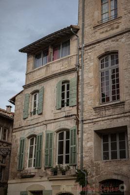 40 Façade de maisons, Arles