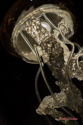 """""""Méduse"""", création de Sébastien Rideau, le Ras d'eau, le Verdon-sur-mer. Samedi 3 juillet 2021. Photographie © Christian Coulais"""