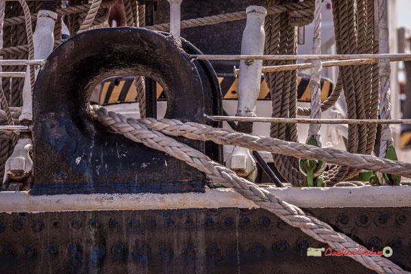 """""""O-V-cordage"""" Krusenstern. Bordeaux fête le fleuve. 22/06/2019 Reproduction interdite - Tous droits réservés © Christian Coulais"""