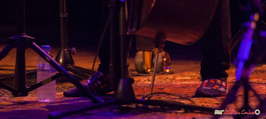 """Jeu de pieds"" Joe Sanders; Vincent Bourgeyx Quartet. Festival JAZZ360 2018, Cénac. 09/06/2018"