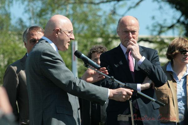 Discours de Jean-Louis Nembrini, Recteur de l'Académie de Bordeaux, Chancelier des Universités d'Aquitaine, 14 avril 2011. Latresne