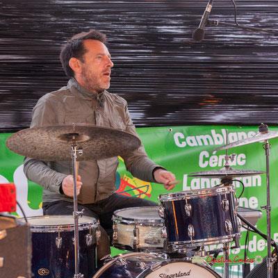 Christophe Maroye Quartet : Didier Ottaviani. JAZZ360-M.A.S. L'ADAPT, Camblanes-et-Meynac. 17/05/2019.