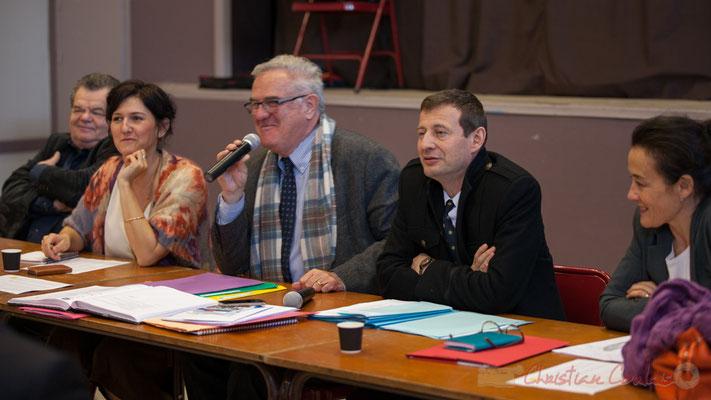 Anne-Laure Fabre-Nadler, Jean-Marie Darmian, Thierry Suquet, Secrétaire général de la Préfecture de la Gironde, Mathilde Feld