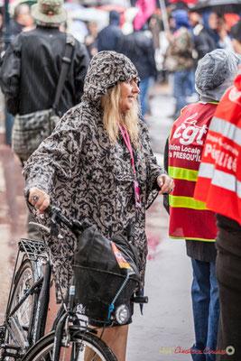 """""""Tiens, une Fipette"""" Disparition annoncée du personnel Fip à Bordeaux. Manifestation contre la réforme du code du travail. Place Gambetta, Bordeaux, 12/09/2017"""