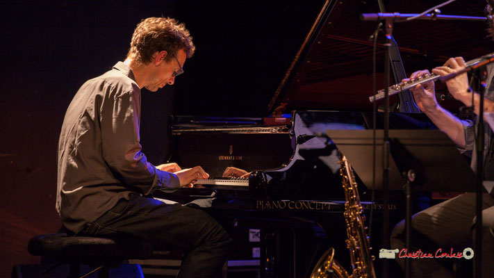 Pierre de Bethmann; Medium Ensemble 3. Festival JAZZ360 2019, Cénac. 07/06/2019