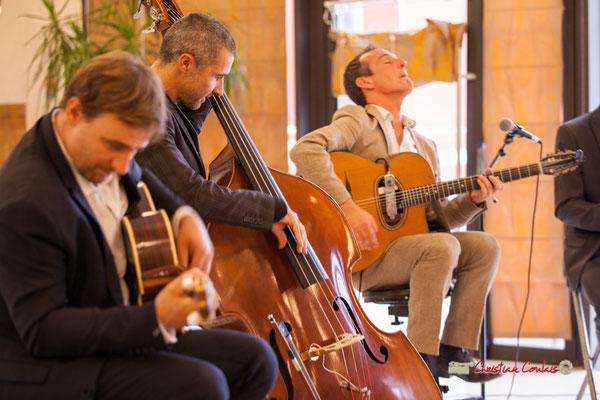 Nicolas Gavotto, Anthony Guterriez, Olivier Tasseël; Belzaii. JAZZ360 / Handivillage 33, Camblanes-et-Meynac, 14/09/2019