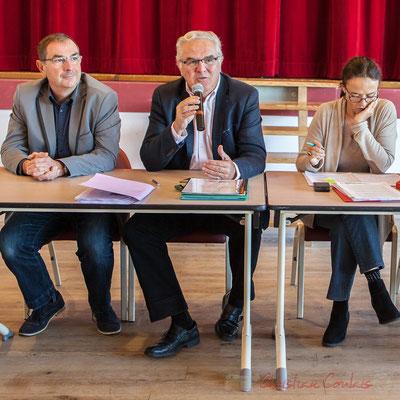 Daniel Coz, Jean-Marie Darmian, Mathilde Feld