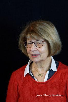 Michèle Pointet photographiée par Jean-Pierre Couthouis. Cénac, samedi 2 février 2019