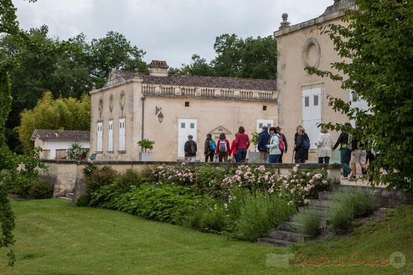 Château Duplessy, Cénac. Randonnée pédestre Jazz360 2016, de Cénac à Quinsac, 12/06/2016