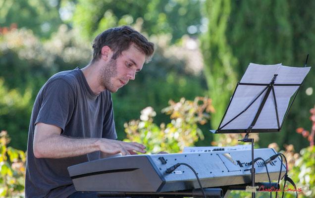Simon Chivallon, Gaétan Diaz Quintet. Festival JAZZ360, 10 juin 2017, Cénac