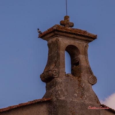 """""""Pigeon"""" Eglise Notre-Dame-de-Fargues, Fargues-de-Langon. Samedi 10 octobre 2020. Photographie © Christian Coulais"""