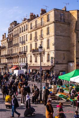 5/5 Marché Saint-Michel, Bordeaux. Samedi 6 mars 2021. Photographie © Christian Coulais