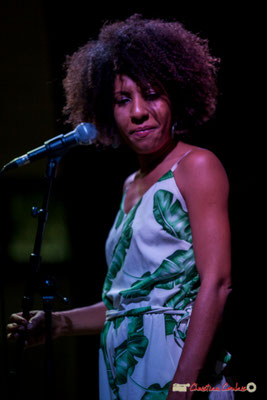 Mayomi Moreno; Mayomi Moreno Project. Festival JAZZ360 2018, Latresne. 10/06/2018