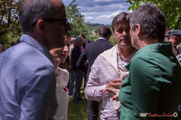 Nicolas Tarbes. Tous avec Martine...Faure et Jean-Marie Darmian, dix ans de députation et un jubilé d'engagements politiques. 14 mai 2017, Blasimon