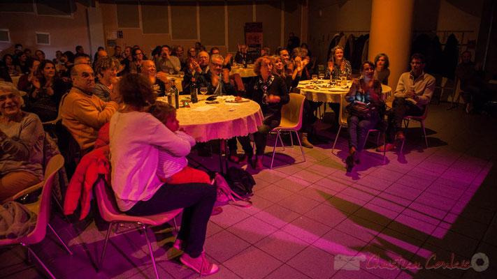 Soirée Cabaret JAZZ360, Salle culturelle de Cénac, Gironde. Ce soir le Trio Marcelle, 05/11/2016
