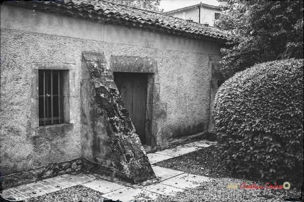 Chai Rouge et ses contreforts, Domaine de Malagar. Centre François Mauriac, Saint-Maixant. 28/09/2019 Reproduction interdite - Tous droits réservés © Christian Coulais