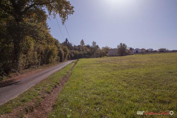 2 Zone agricole. Avenue de Moutille, Cénac, Gironde. 16/11/2017