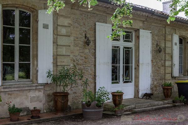 Château Brethous, Camblanes-et-Meynac. Randonnée pédestre Jazz360 2016, de Cénac à Quinsac, 12/06/2016