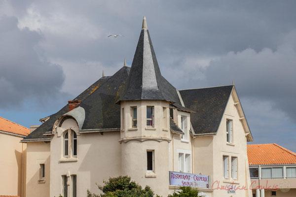 Habitat traditonnel, la Corniche Vendéenne, Vendée, Pays de la Loire